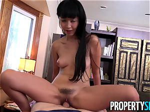 PropertySex manager boinks great Tenant asian Marica Hase