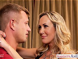 Brandi enjoy covets knob deep in her cougar cunt