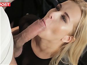 LETSDOEIT - super-fucking-hot platinum-blonde Tricked Into hook-up By Czech guy