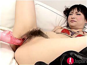 bondage joy with Rika Sonohara