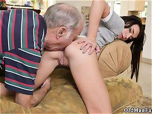 old grandpa cum shot woman internal cumshot railing the aged cock!