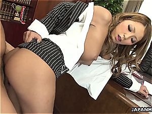 chinese assistant getting her slit plowed dearly