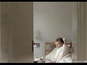 sensual Sandra Huller getting nude on film