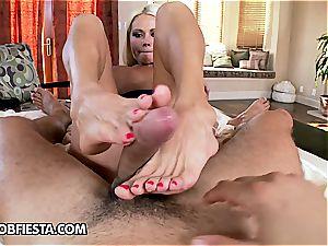 Wanna pummel her gotta adore her soles