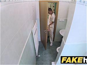 faux medical center smallish light-haired Czech patient health test