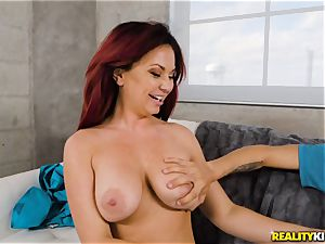 Nurse Brooke Beretta curse Tylers yam-sized dick