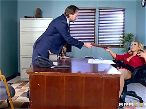 How to pound in the office with Olivia Austin