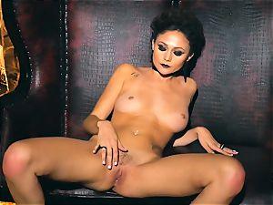 slim diminutive Ariana Marie killer rubber solo onanism