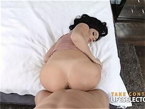 beautiful babes stuffed by ginormous fuck-stick