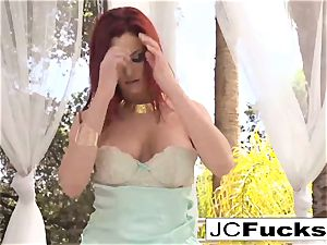 uber-sexy sunny day with a wondrous mischievous redhead