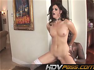 HDVPass interracial romp with India Summers