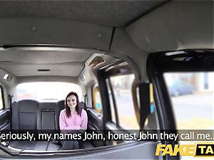 fake taxi yankee redheads cock-squeezing a-hole pounded