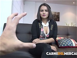 CarneDelMercado - Reality pick up and boink with Latina