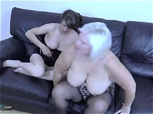 AgedLovE Mature ash-blonde Lacey Starr hard-core pummel