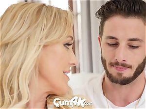 CUM4K Step mummy Brandi enjoy crammed with creampies