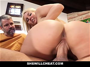SheWillCheat - Step mummy Cheats on Traveling hubby