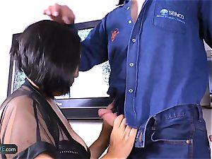 AgedLovE kinky Mature Latina girl gonzo hump