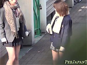 asian schoolgirls piss