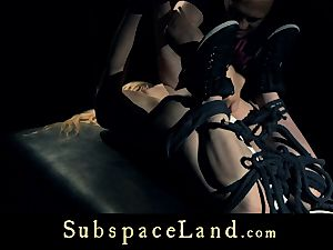 marionette nymph blonde pleasured and penalized in subjugation