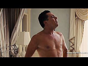 Margot Robbie nude in The wolf of Wall Street