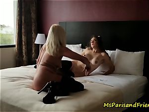 The hotel apartment Strippers sex with Ms Paris Rose