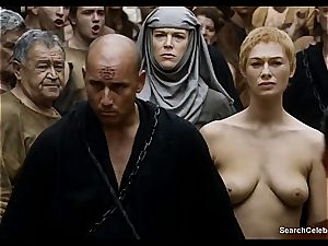 Lena Headey bares her bare figure in Game of Thrones