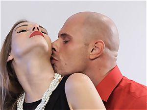 PINUP hookup - splendid Czech stunner Alexis Crystal in torrid pummel