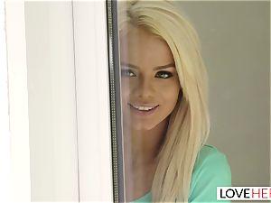 LoveHerFeet - torrid ash-blonde Gives a molten sole plow