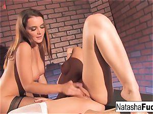 Natasha and Dani Have wild joy