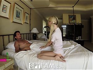 SpyFam Step daughter-in-law Piper Perri screw and internal ejaculation
