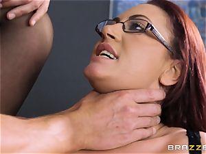 Emma rump hungers stiff rod down her pussyhole