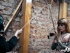 special soles force - Lesdom torments German feet slaves