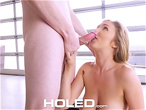 HOLED Lena Paul assfuck pulverized and facial cumshot in LA pad