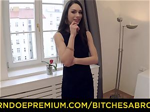bitches ABROAD - torrid Russian Arwen Gold rails giant trouser snake