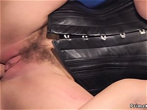 Angry beau raunchy ass-fuck plumbs marionette gf