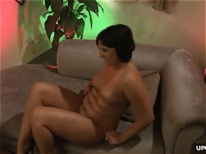 huge-chested porn babes getting girly-girl with face sitting moves