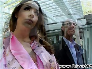 Chanel Preston plowed and facialised by Lexinton Steele