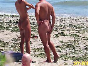 spycam fledgling bare Beach cougars Hidden webcam Close Up