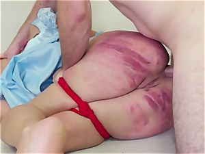 extreme painal pendulum bdsm anal invasion fuckfest in domination & submission saloon