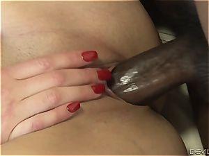 giant ebony cock pounding ultra-kinky stepdaughter