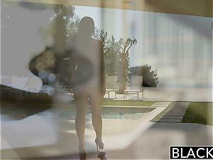 BLACKED giant all-natural bra-stuffers stunner Angela milky ravages big black cock