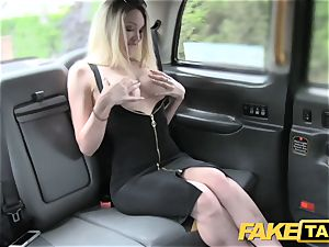 faux taxi super sizzling light-haired with a great bod likes shaft