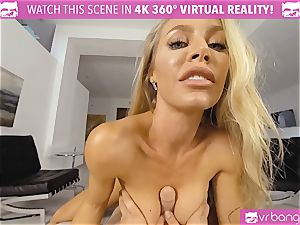 VR PORN-Nicole Aniston Gets drilled rock-hard and deep-throats