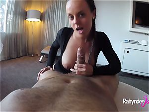 Rahyndee James swanky hotel drilling point of view