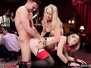 blondie mega-bitch buttfuck plumbed at bang-out party