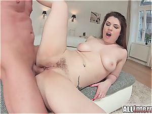 stellar Lucia love takes a big boner in her rear