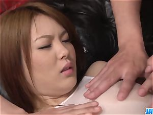 Subtitles - chinese hotty Rei gets chisel in her ultra-cute