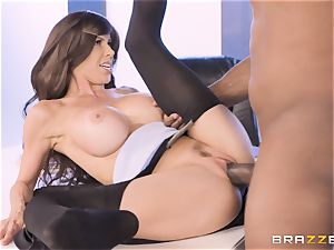 Alexis Fawx nailed by immense big black cock