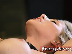 red head bondage & discipline cage and extraordinary restrain bondage going knuckle deep Big-breasted towheaded sweetie Cristi Ann is on