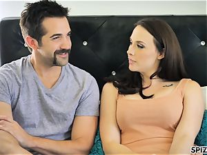 Spizoo - watch Chanel Preston inhaling and tearing up